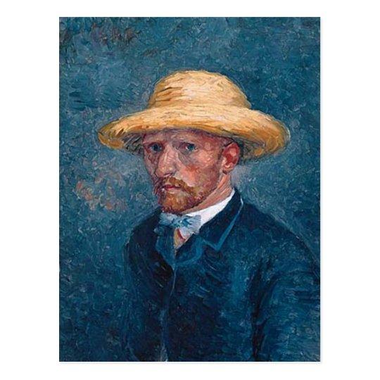 Portrait of Theo van Gogh, Van Gogh Fine Art Postcard