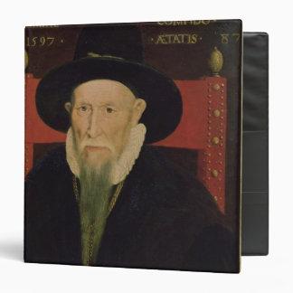 Portrait of Theodore de Beze Binder