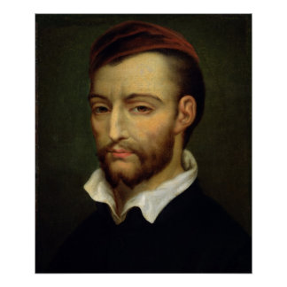 Portrait of Theodore Gericault Poster