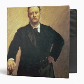 Portrait of Theodore Roosevelt Binder