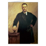 Portrait of Theodore Roosevelt Card