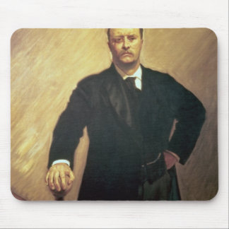 Portrait of Theodore Roosevelt Mouse Pad