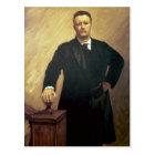 Portrait of Theodore Roosevelt Postcard