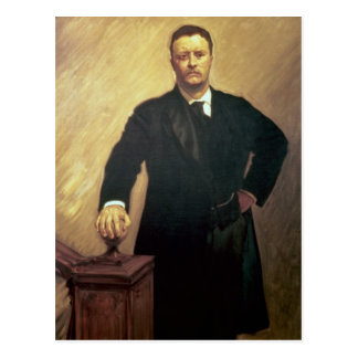 Portrait of Theodore Roosevelt Postcard