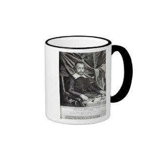 Portrait of Theophraste Renaudot  age 58, 1644 Ringer Coffee Mug