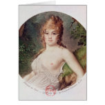 Portrait of Theresa de Cabarrus Greeting Cards
