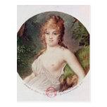 Portrait of Theresa de Cabarrus Post Card