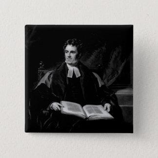 Portrait of Thomas Arnold Pinback Button