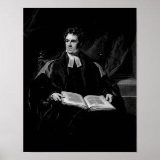 Portrait of Thomas Arnold Poster