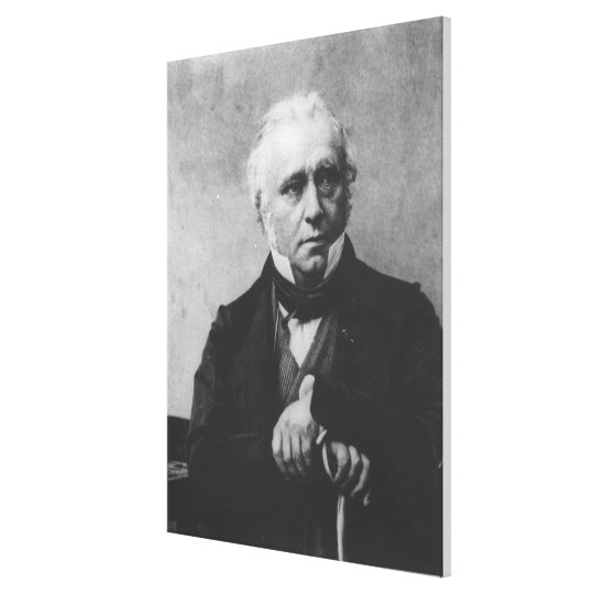 Portrait of Thomas Babington Macaulay Canvas Print