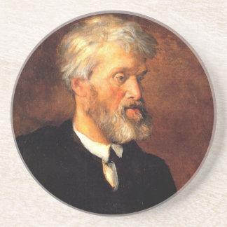 Portrait of Thomas Carlyle Coaster