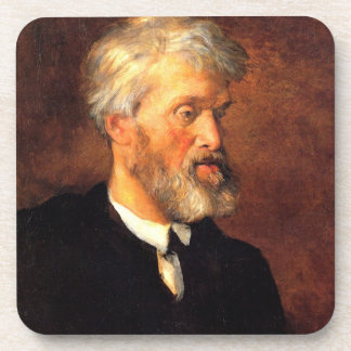 Portrait of Thomas Carlyle Coasters