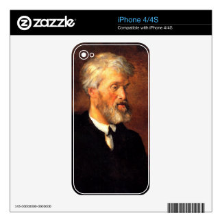 Portrait of Thomas Carlyle iPhone 4S Skins