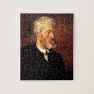Portrait of Thomas Carlyle Jigsaw Puzzles