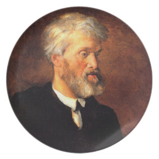 Portrait of Thomas Carlyle Party Plate