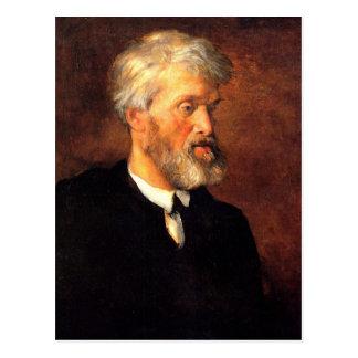 Portrait of Thomas Carlyle Postcard