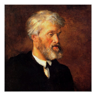 Portrait of Thomas Carlyle Poster