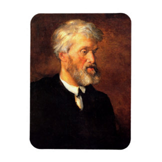 Portrait of Thomas Carlyle Rectangular Photo Magnet