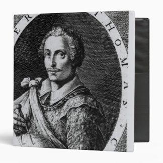 Portrait of Thomas Cavendish Vinyl Binders