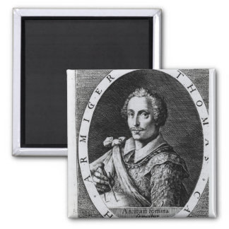 Portrait of Thomas Cavendish Fridge Magnets
