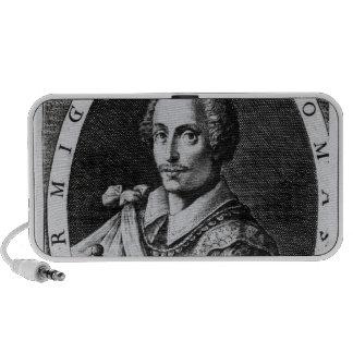 Portrait of Thomas Cavendish iPod Speakers