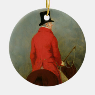 Portrait of Thomas Cholmondeley, first Lord Delame Ceramic Ornament