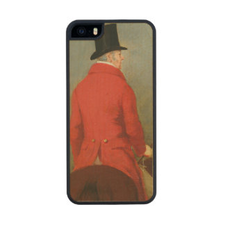 Portrait of Thomas Cholmondeley, first Lord Delame Wood iPhone SE/5/5s Case