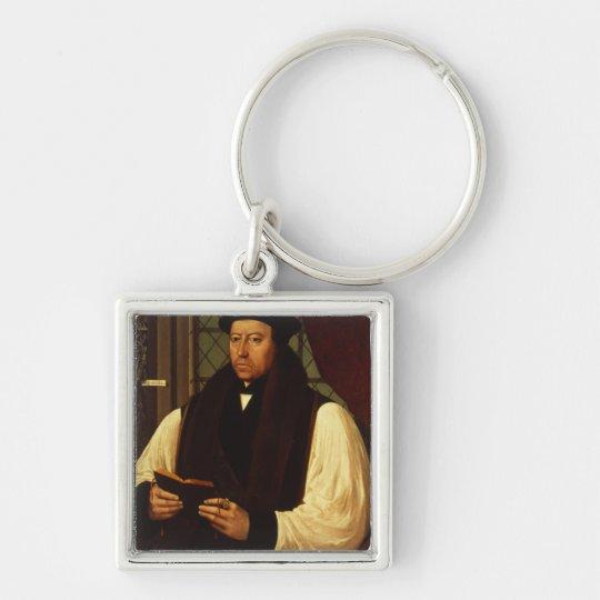 Portrait of Thomas Cranmer  1546 Keychain