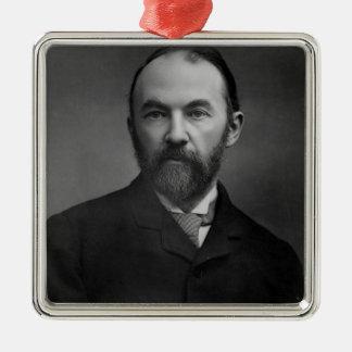 Portrait of Thomas Hardy Metal Ornament