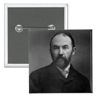Portrait of Thomas Hardy Pinback Button