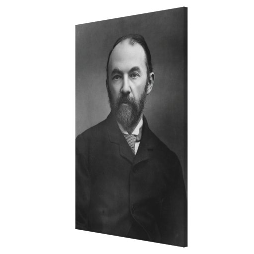 Portrait of Thomas Hardy Stretched Canvas Print