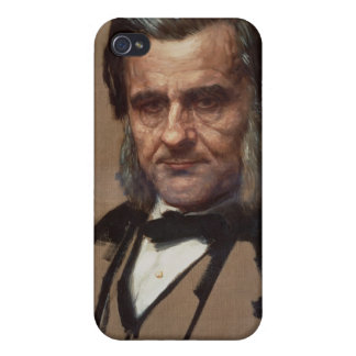 Portrait of Thomas Henry Huxley Cover For iPhone 4