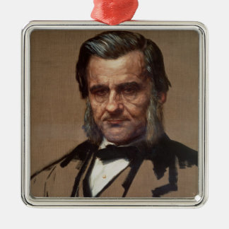 Portrait of Thomas Henry Huxley Metal Ornament