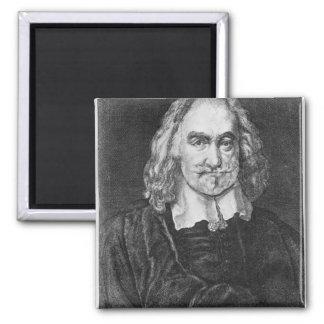 Portrait of Thomas Hobbes Refrigerator Magnet