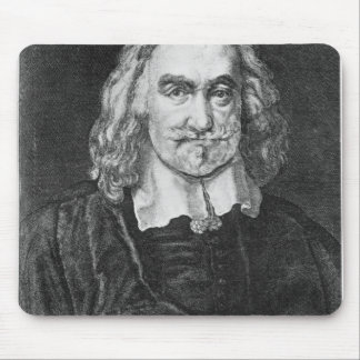 Portrait of Thomas Hobbes Mouse Pad