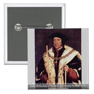 Portrait Of Thomas Howard 3Rd Duke Of Norfolk Pins