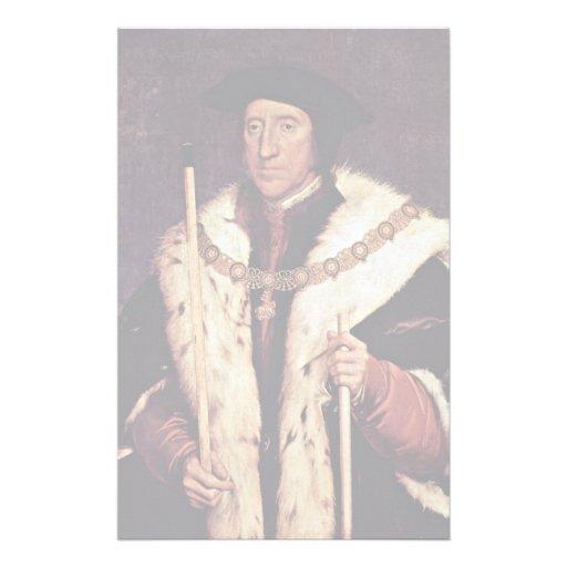 Portrait Of Thomas Howard 3Rd Duke Of Norfolk Stationery