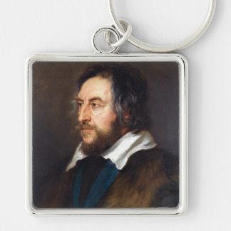 Portrait of Thomas Howard Peter Paul Rubens Keychain