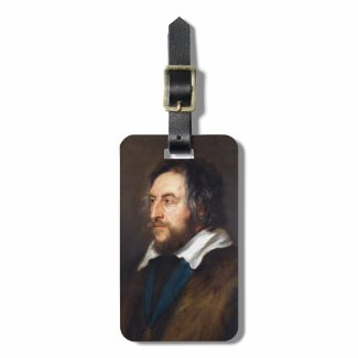Portrait of Thomas Howard Peter Paul Rubens Bag Tag
