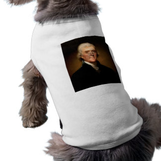 Portrait of Thomas Jefferson by Rembrandt Peale Tee