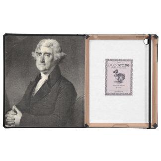 Portrait of Thomas Jefferson Cases For iPad