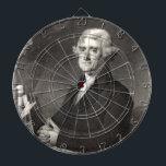 "Portrait of Thomas Jefferson Dartboard<br><div class=""desc"">Portrait of Thomas Jefferson</div>"