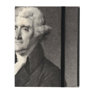 Portrait of Thomas Jefferson iPad Folio Cases
