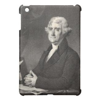 Portrait of Thomas Jefferson iPad case