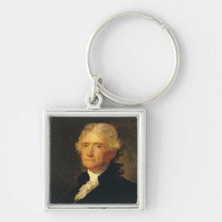 Portrait of Thomas Jefferson Keychain