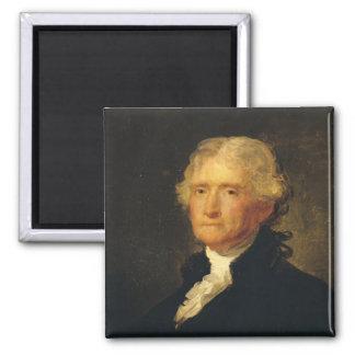 Portrait of Thomas Jefferson Magnet