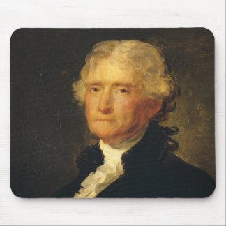 Portrait of Thomas Jefferson Mouse Pad