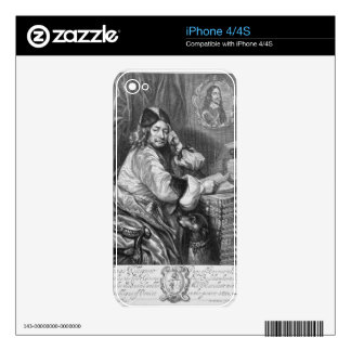 Portrait of Thomas Killigrew (1612-83) Restoration Decal For iPhone 4