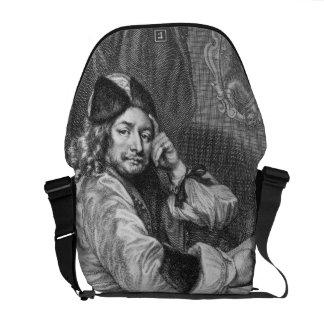 Portrait of Thomas Killigrew (1612-83) Restoration Courier Bags