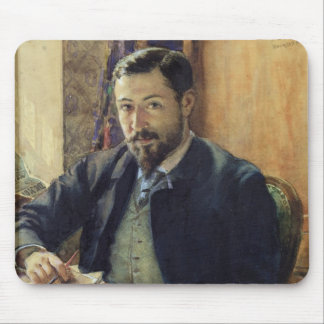 Portrait of Thomas Lemas Mouse Pad